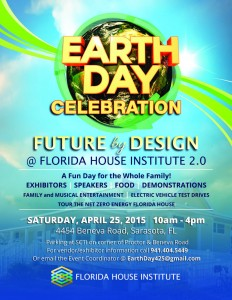 Florida House Earth Day flyer