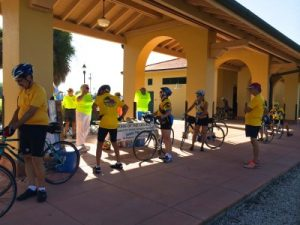 FLT HIT squad at the historic Venice Train Depot