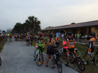 Riders gather for 2015 Tour de Parks