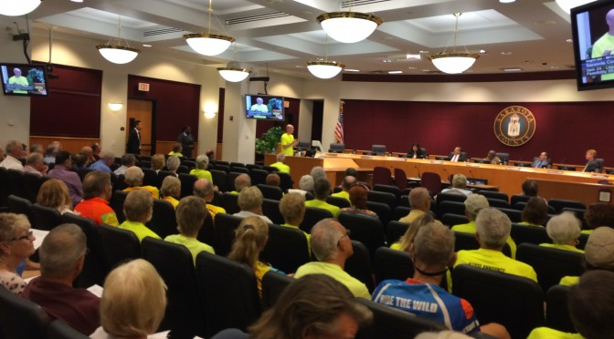 County Commissioners Endorse Proceeding with Legacy Trail Extension
