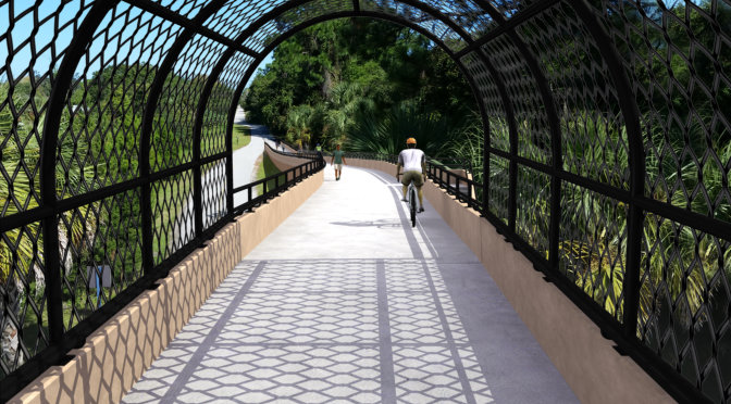 Update on The Legacy Trail Bridge over Laurel Road