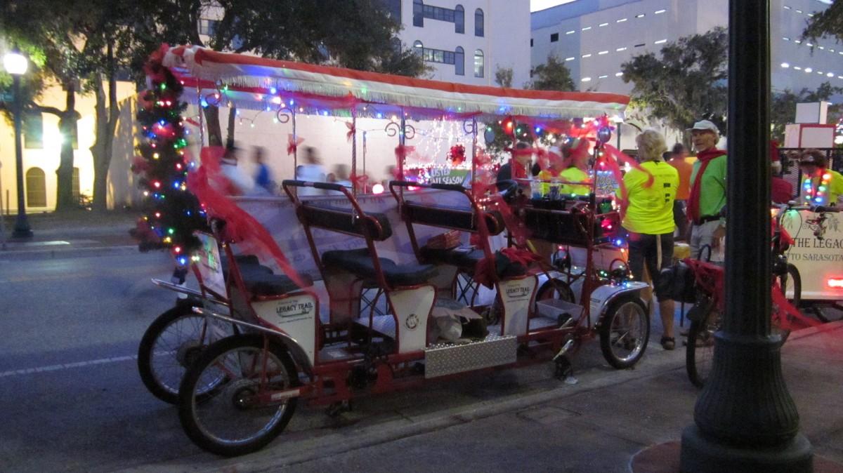 2015 Sarasota Christmas Parade   Friends of The Legacy Trail