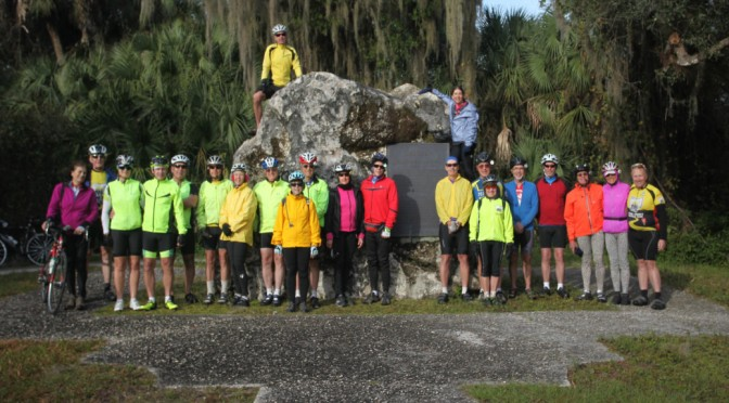 Members of the Stark County Bicycle Club Visit The Legacy Trail