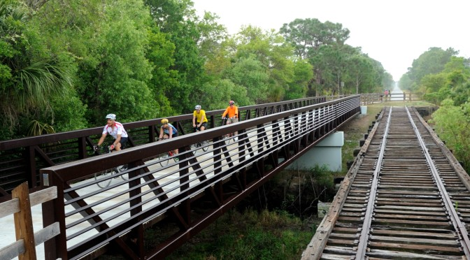 County Back In Conductor Seat For Trail Extension