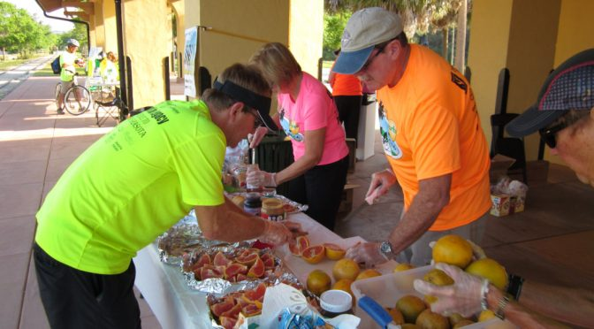 Bike Florida and The Best Volunteers Ever!