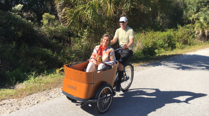 Taking Mom for a Ride on The Legacy Trail