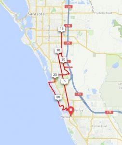 35 mile map